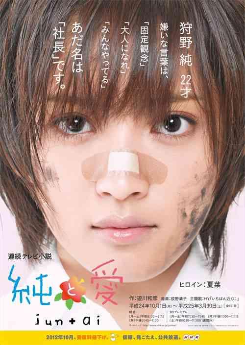 """夏菜、NHK連続テレビ小説「純と愛」で""""崩壊""""していた…当初は「みんな敵にしか見えなくて」"""