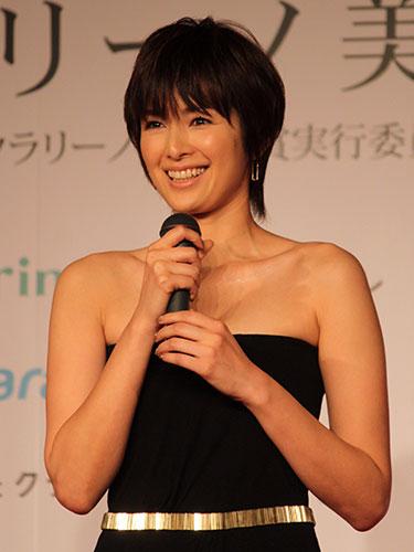 吉瀬美智子のドレス
