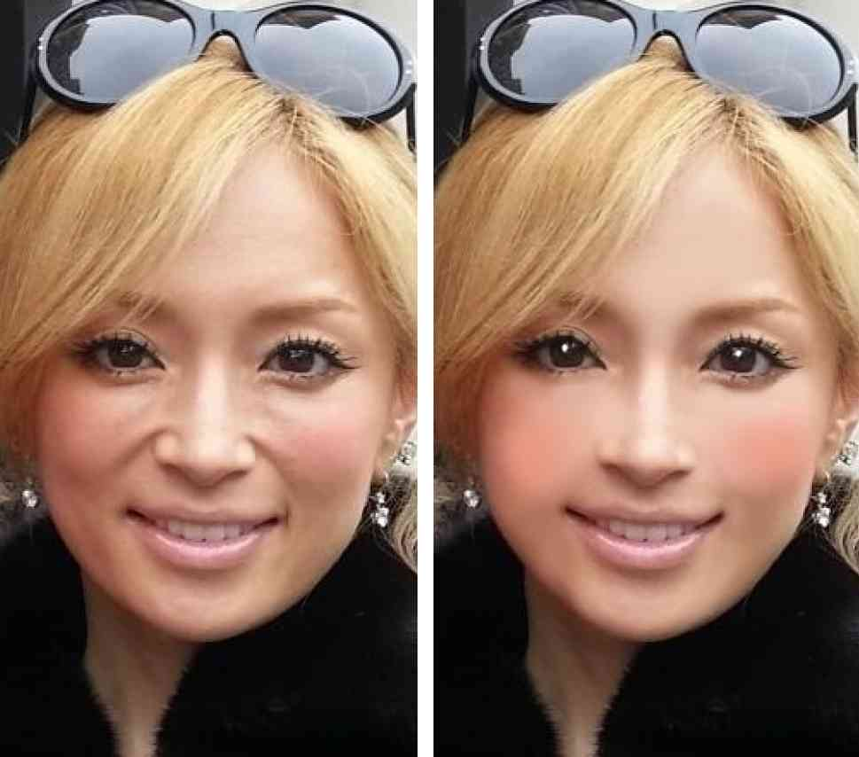 浜崎あゆみ、「あゆ顔」のつくり方を公開www