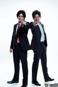 伊藤英明、坂口憲二がテレビ朝日系連続ドラマ「ダブルス~二人の刑事」に刑事役でダブル主演