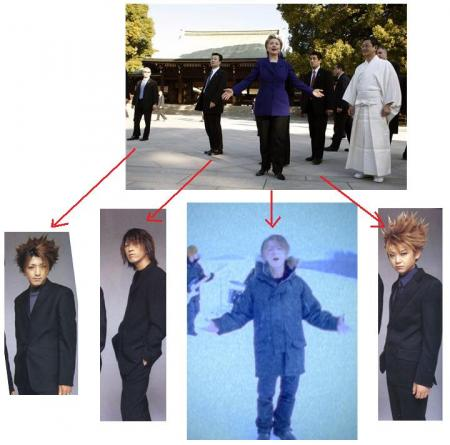 完全に一致している画像の数々をご覧ください