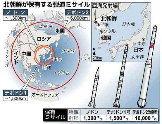 「日本には原子力施設ある」「広島・長崎の核の惨禍とは比べられない莫大な被害に遭うことは避けられない」と北朝鮮が威嚇