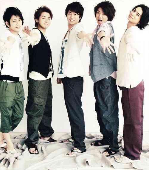「男性が好きなジャニーズグループ」1位 嵐、2位TOKIO、3位SMAP、4位関ジャニ∞、5位キスマイ