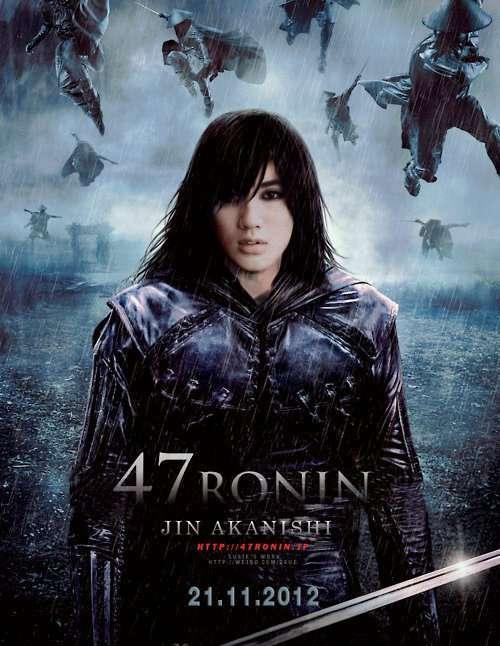 キアヌ・リーブス主演の忠臣蔵「47 Ronin」のポスターwww
