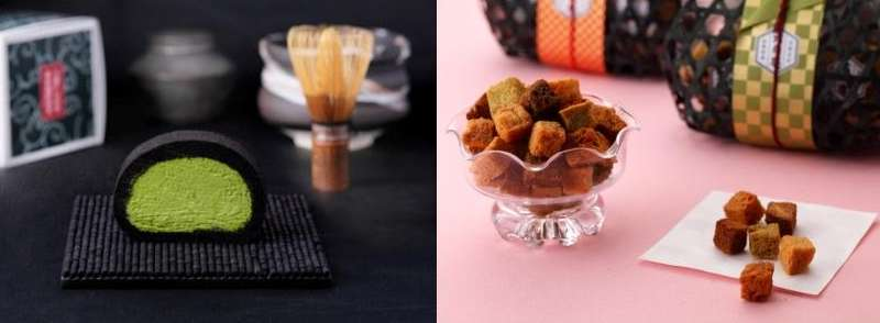 抹茶もしくはお茶のお菓子でオススメありますか?