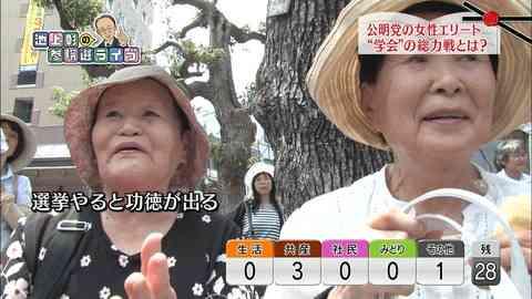 池上彰が選挙特番でタブーにツッコミまくりww