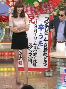脚の綺麗なタレントさんは誰だと思いますか?