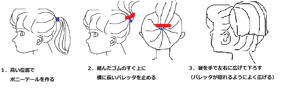 簡単なヘアアレンジを教えてください!