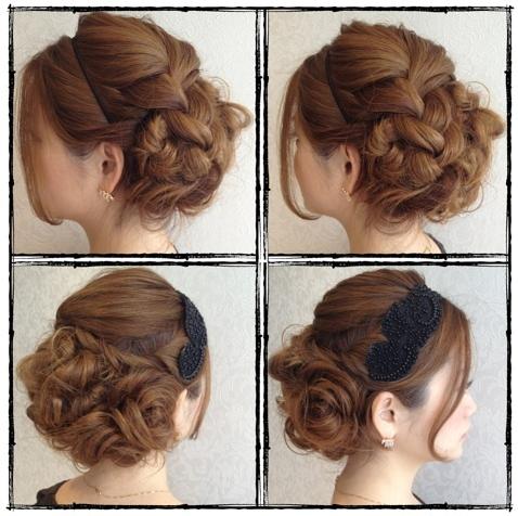 結婚式、呼ばれたらどんなヘアースタイルで行きますか?