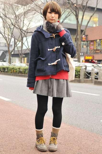 【画像】好きなコーデを貼るトピ(冬)