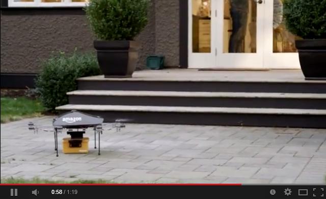 Amazon、小型無人ヘリコプターで注文品を30分以内に配達! 実験動画がかわいいww