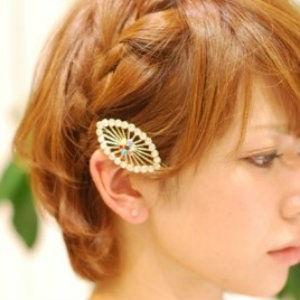 ショートヘアのアレンジ