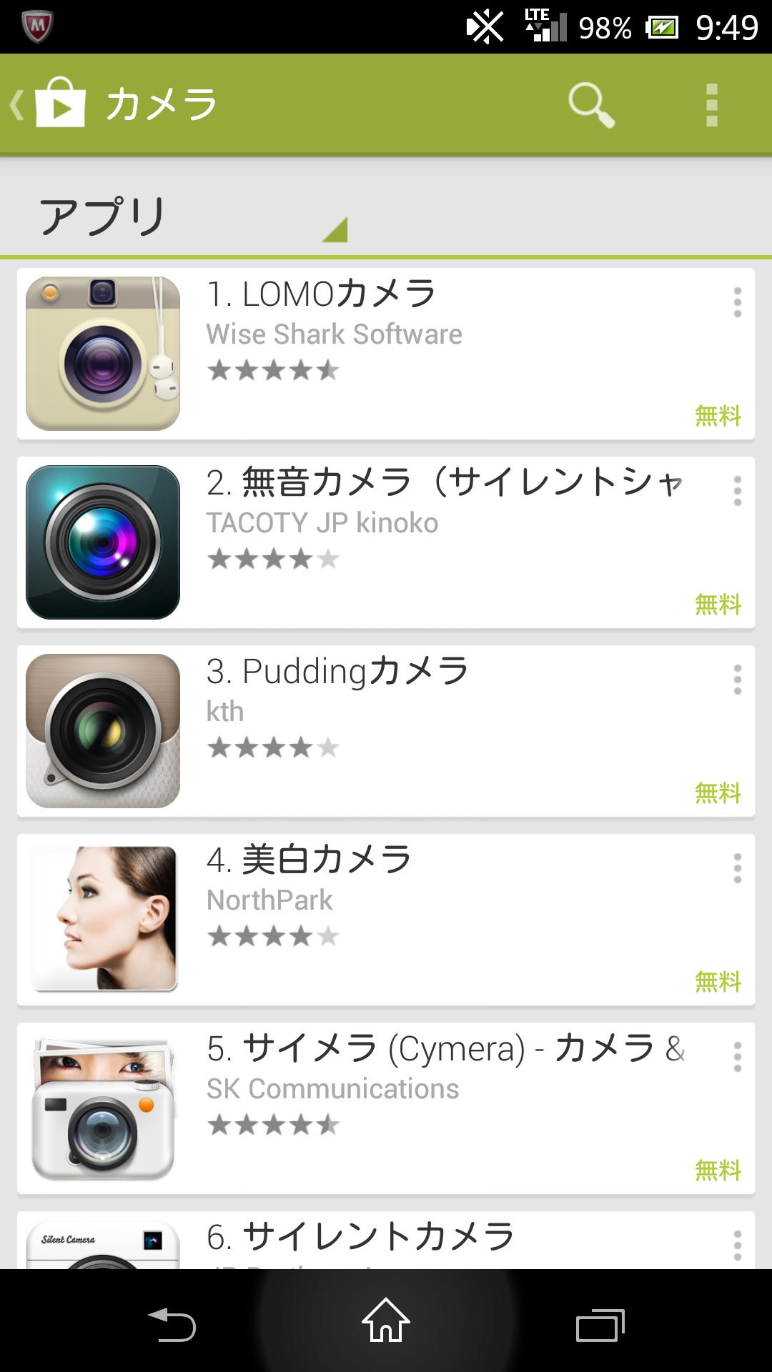 オススメの写真系アプリ!!