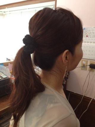 オフィスでのヘアスタイル