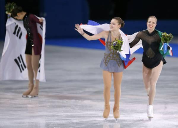 ソトニコワと羽生結弦が良い感じと話題の写真