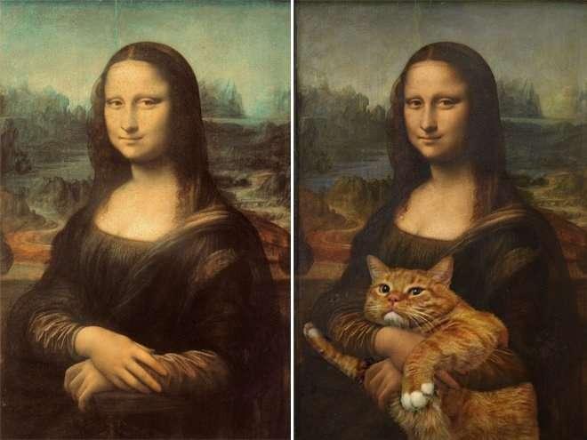 有名な絵画の前後を想像してみたら、とんでもないことになったw