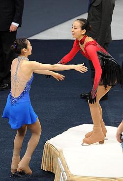 キム・ヨナ「一番のライバルは浅田真央。長い間比較され、競争もした。浅田が泣きそうなときは、私もこみ上げてくる」
