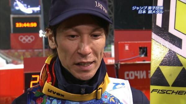 【ソチ五輪】スキージャンプ男子団体が銅メダル!16年ぶりメダル獲得