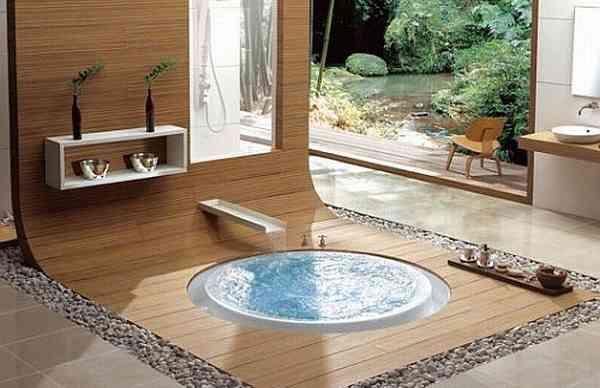 おしゃれなお風呂の画像ください!