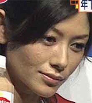 真木よう子の顔の大きさww
