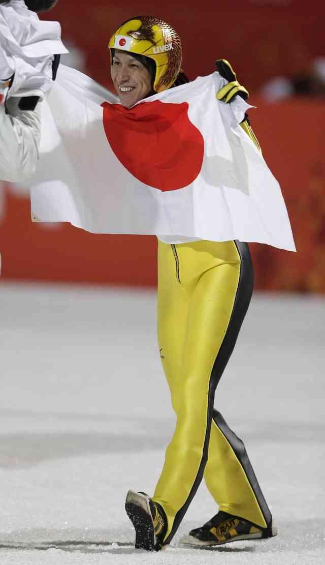 【ソチ五輪】スキージャンプ男子ラージヒル個人で41歳・葛西紀明が銀メダル獲得! カミル・ストッホが2冠達成
