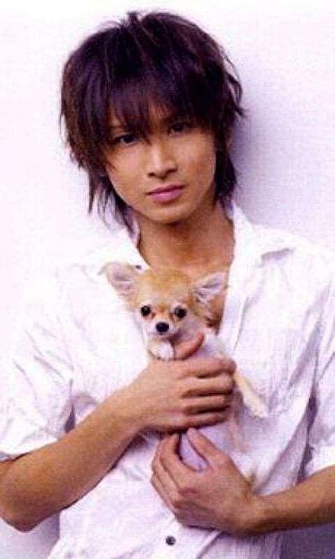 犬と有名人の画像♡