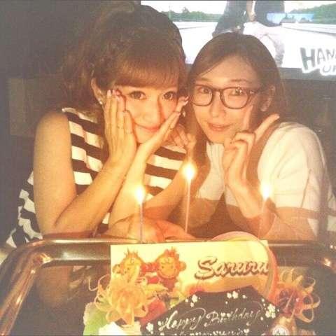 加護亜依が辻希美の誕生会に出席!ツーショット画像を公開!