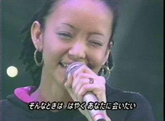 歌番組での安室奈美恵
