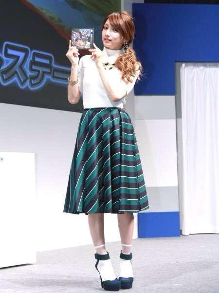 後藤真希、大好きな『モンスターハンター』イベントに登場 「早朝からやっています」