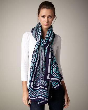 スカーフの使い方