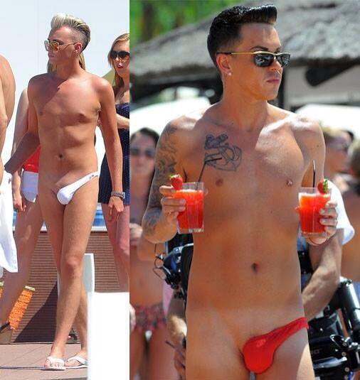 【下ネタ注意】英国人俳優、日焼けラインを回避する画期的な水着を考案