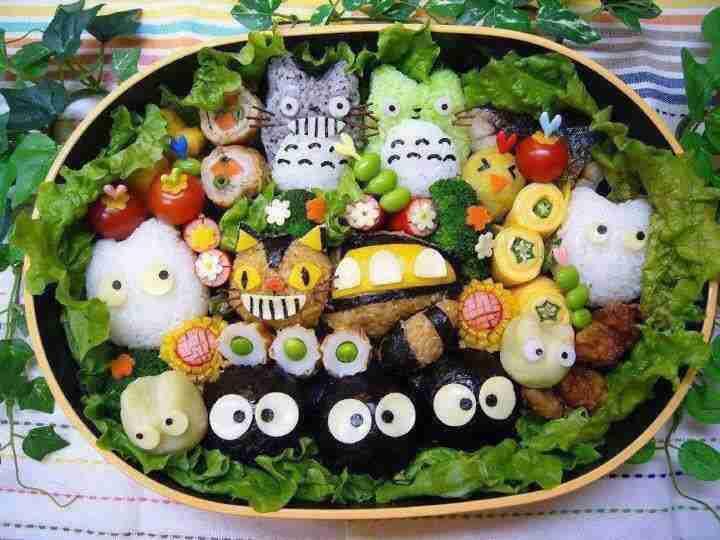 おいしそうなお弁当の画像
