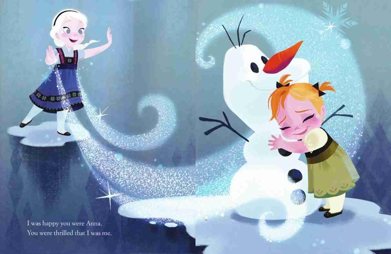 ディズニーアナと雪の女王の壁紙
