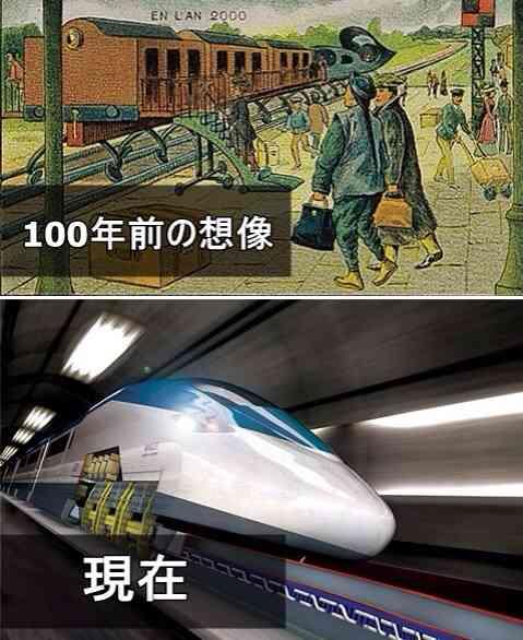 今から100年後の世界には何ができてると思いますか?