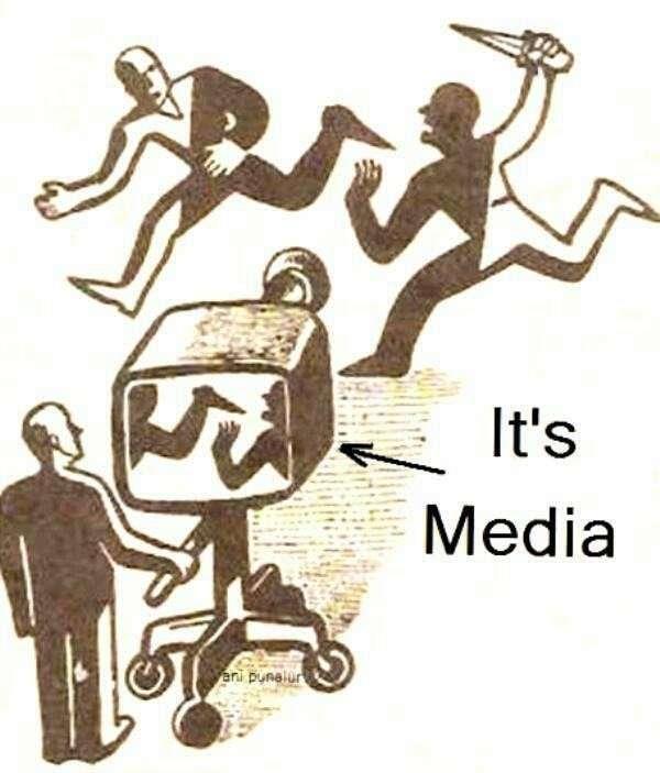 メディアがいかに視聴者をゴマかしているかがよくわかる写真www