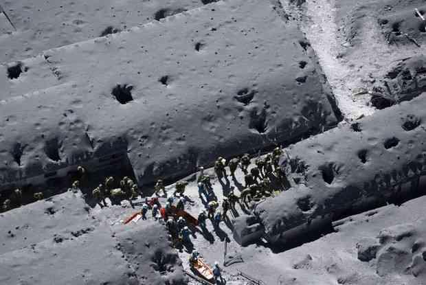 海外メディアの方が御嶽山の被災現場を詳しく報道している