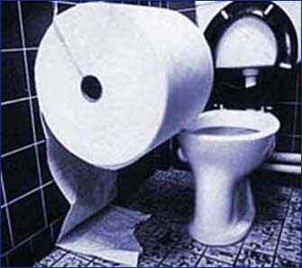トイレットペーパーにされた地味なイタズラがウザすぎるwww