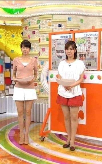 美脚すぎる加藤綾子