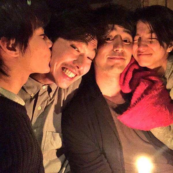 錦戸亮と満島ひかり、ドラマ打ち上げで「食べさせあいっこ」