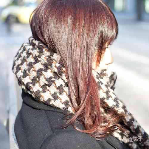 髪の長い人限定---マフラーの巻き方どうしてます?