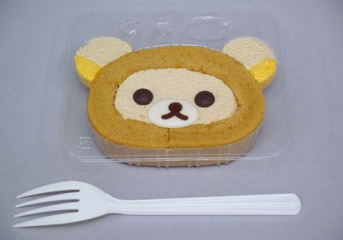 リラックマのお顔を自分で作れるロールケーキ、ローソンより発売
