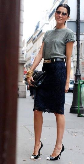大人の女性に似合うスカートコーディネート