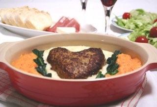 バレンタインの夜ご飯