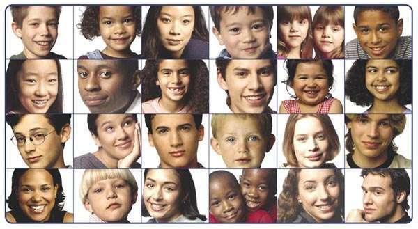 人種関係なくいろんな顔を貼るトピ