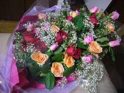 男の人から花をもらったことありますか?