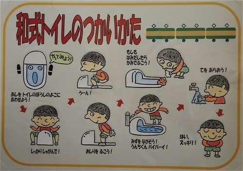和式トイレのレバー、踏んでいますか?