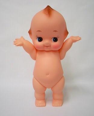 幼児体型の人