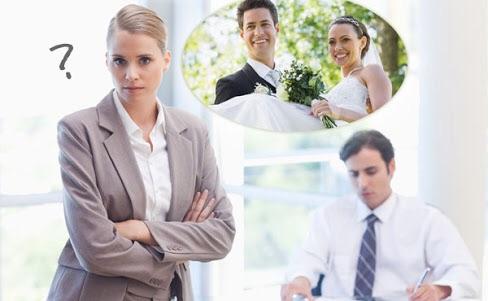 職場への結婚報告いつしましたか?