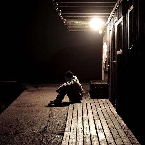 孤独を愛している人