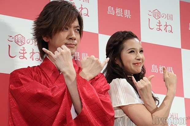 DAIGO 北川景子と交際宣言!熱愛質問に「激アツです」